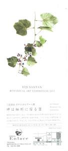三反栄治ボタニカルアート展